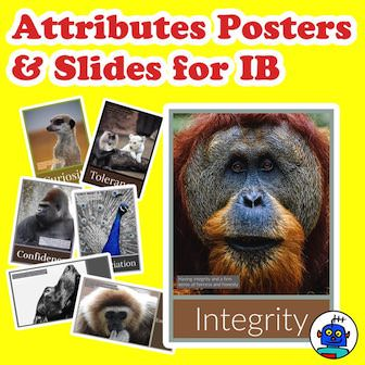 IB Attributes Posters and Slides TpT