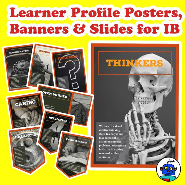IB Learner Profile Posters Banners and Slides