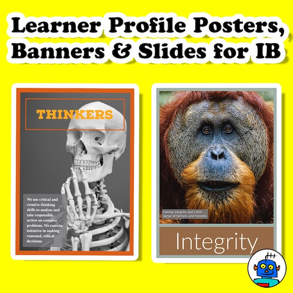 Attributes & Learner Profiles Bundle