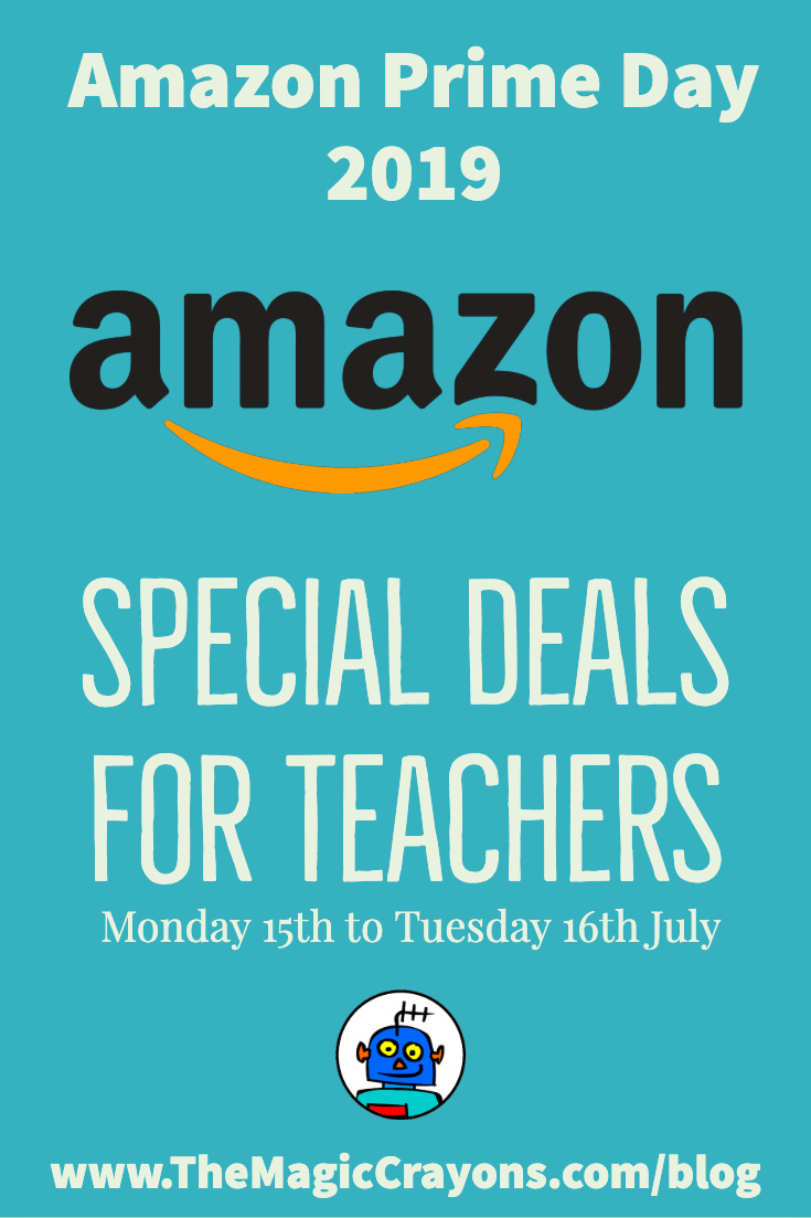 Amazon Prime Day 2019 Special Deals for Teachers Live