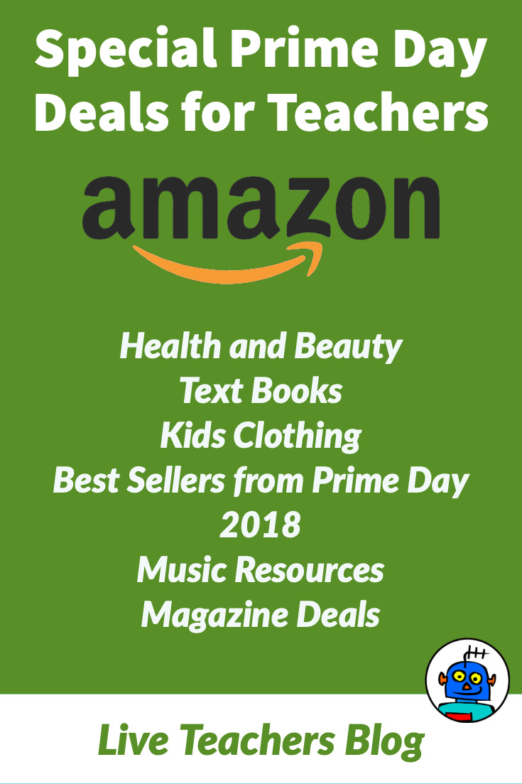 Amazon-Prime Day Deals for Teachers Health