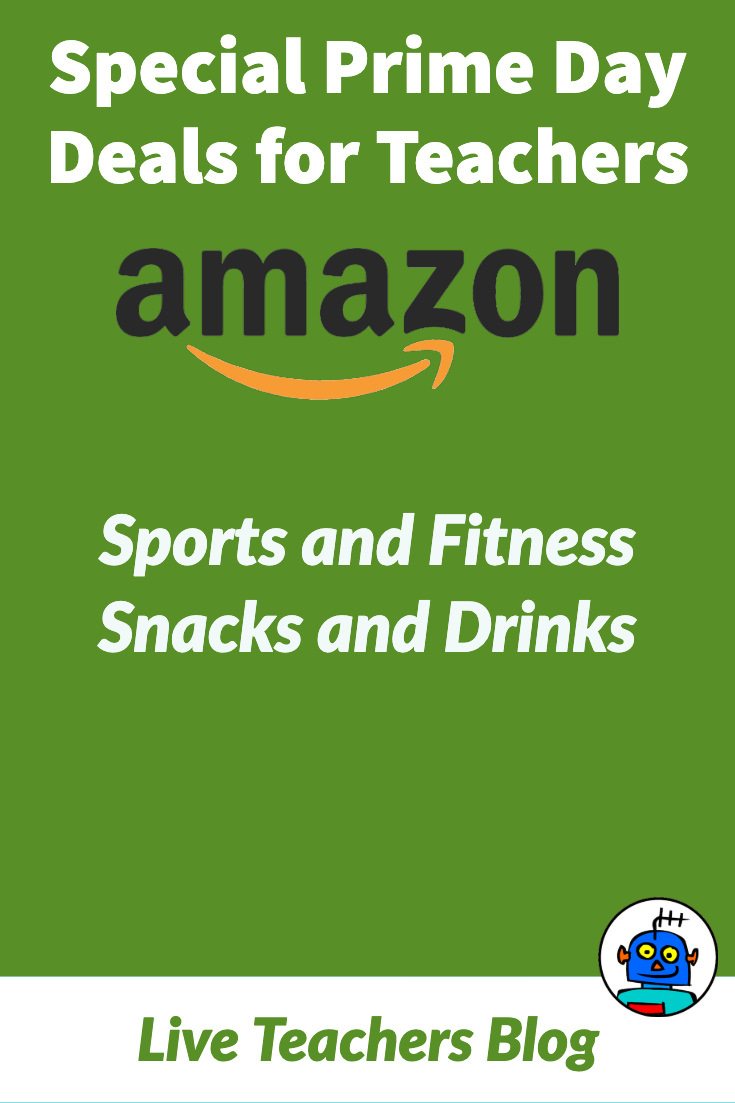 Amazon Prime Day Deals for Teachers Sports and Fitness Snacks
