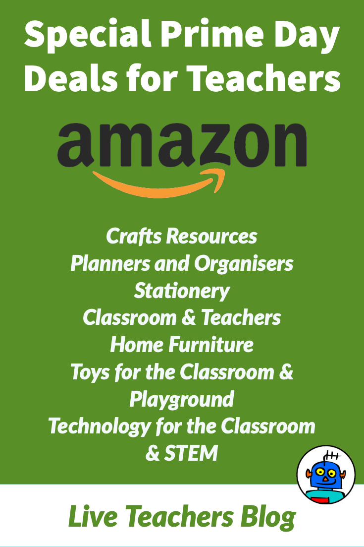 Best Amazon Prime Day Deals for Teachers