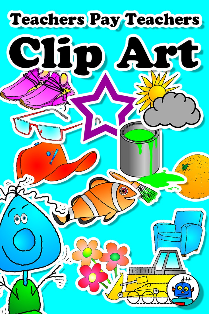 Clip Art for TpT Teachers Pay Teachers