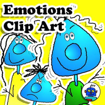Emotions and Feeling Clip Art