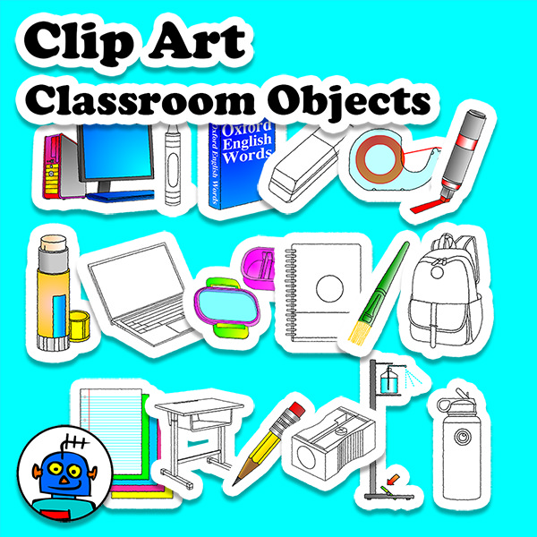 classroom_objects_clip_art