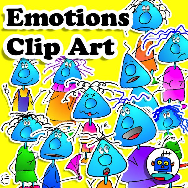 emotions and feelings clip art body