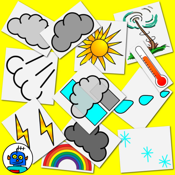 weather clip art colour