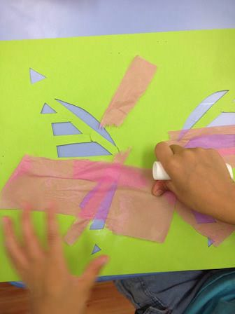 tissue and paper craft