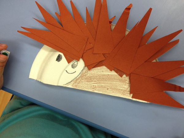 Hedgehog Craft