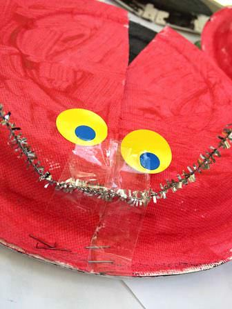 lady bug eyes craft