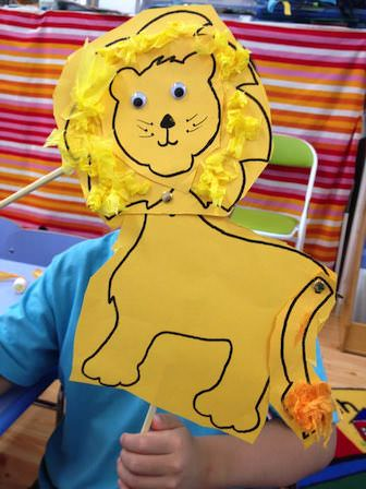 Moveable Lion Craft