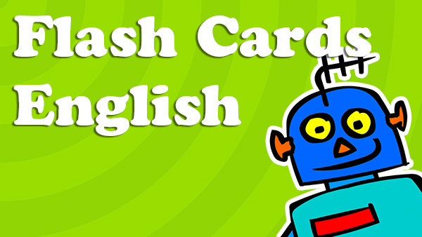 English ESL EFL Language Flash Cards
