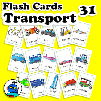 http://www.themagiccrayons.com/warehouse-flash-cards/English-Flash-Cards-Vehicles