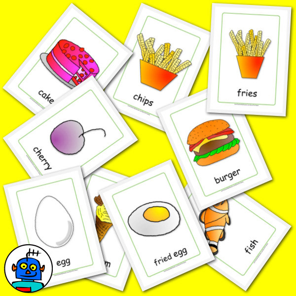 Food Flash cards