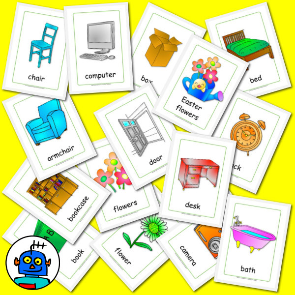 Furniture Flash Cards
