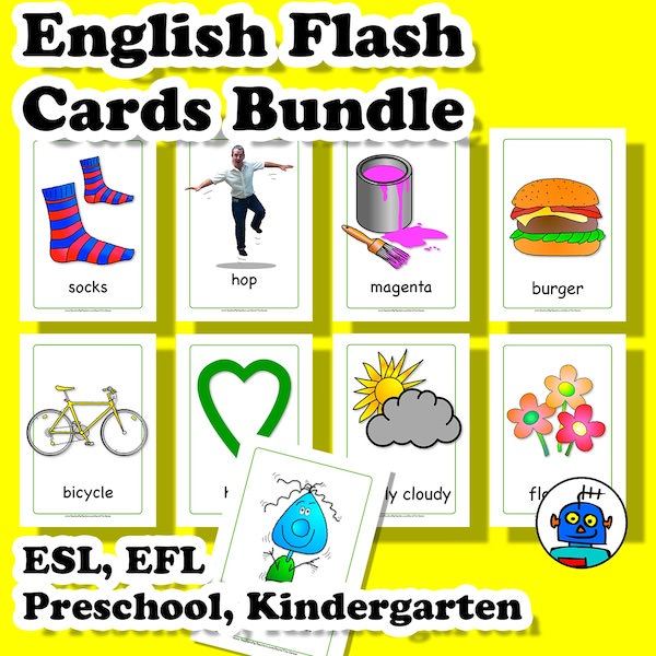 English-Flash-Cards-Bundle