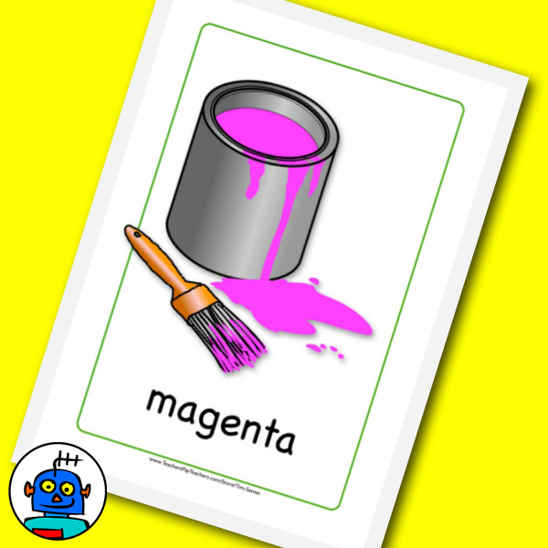 Magenta Flash Cards