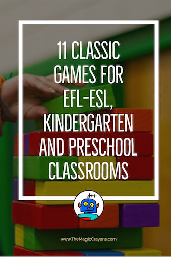 11 Classic Classroom Games for Preschool to Kindergarten