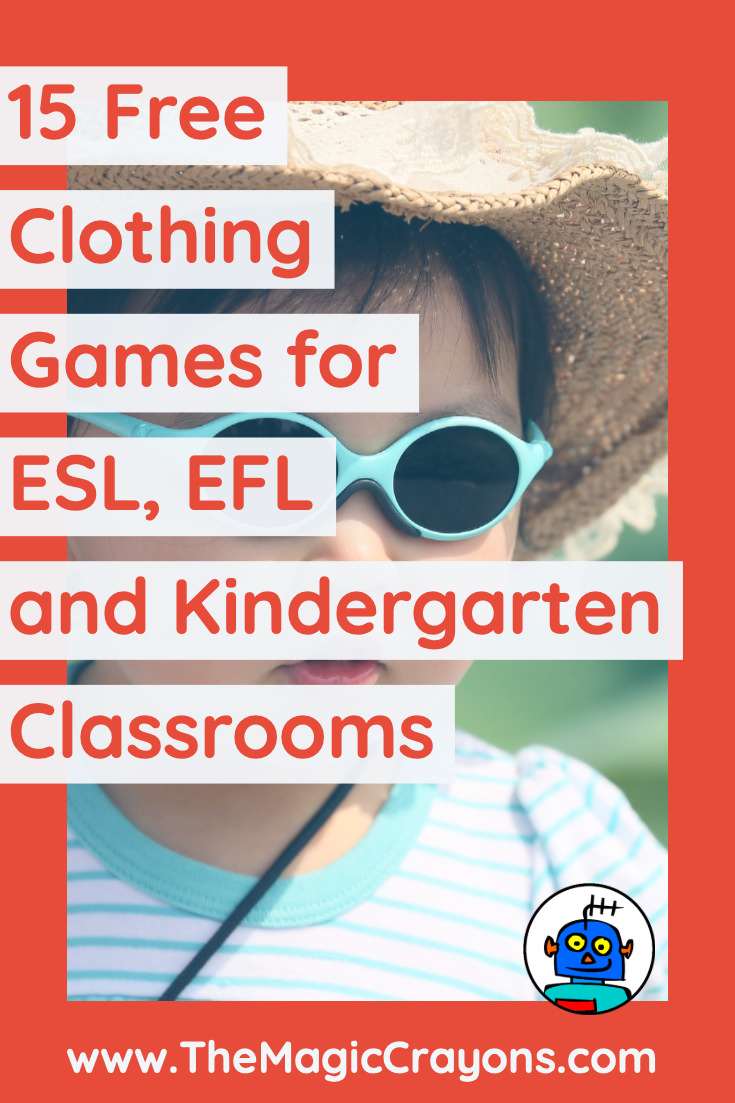 15 Free Clothing Games for Classrooms