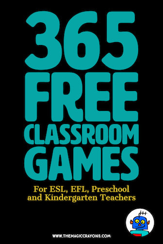 365 Free Kindergarten Classroom Games and Activities