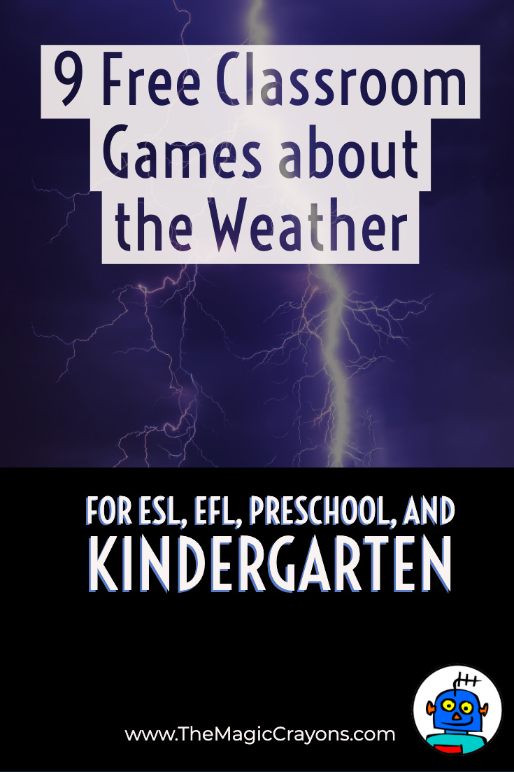 9 Free Classroom Games about the Weather