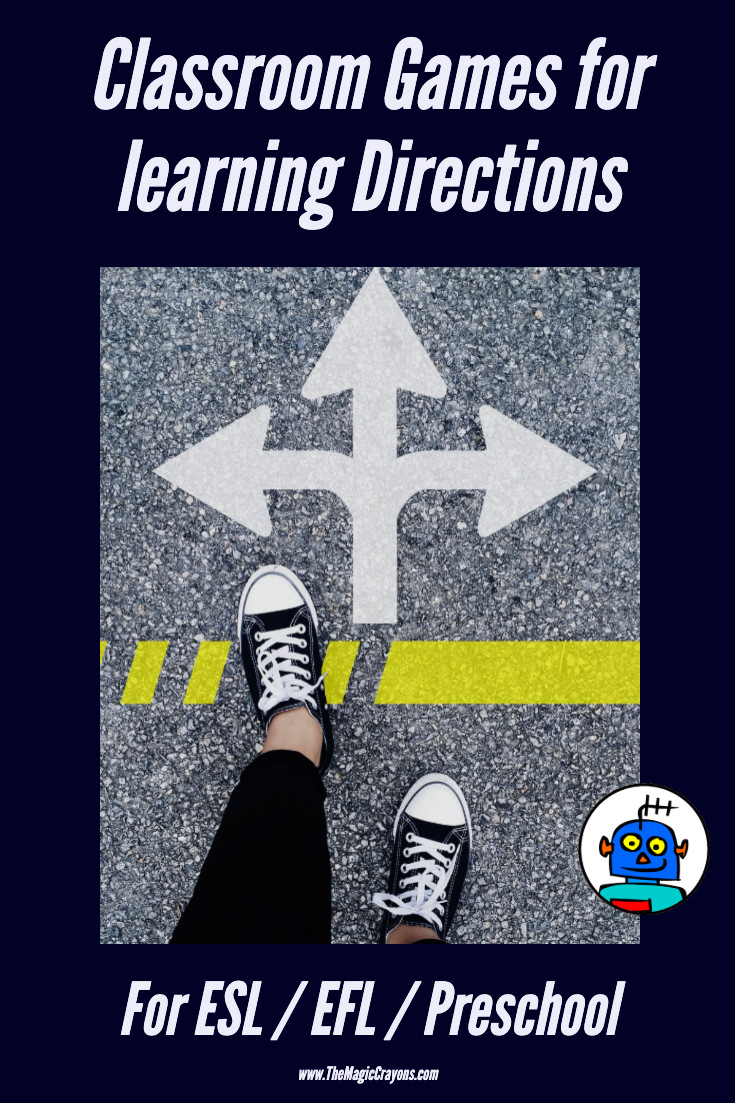 Classroom Games for learning Directions