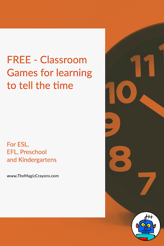 FREE Classroom Games for learning to tell the time