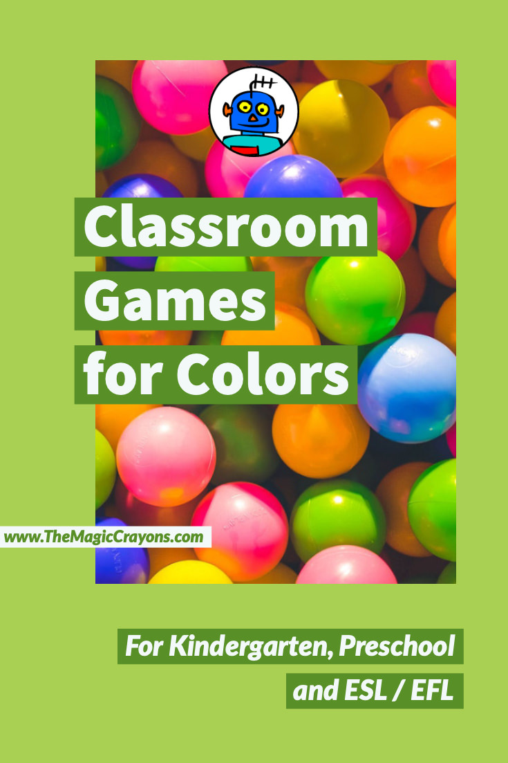 Free Classroom Kids Games for Colors