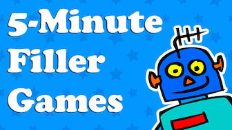 FREE 5 minute filler anytime games for the classroom
