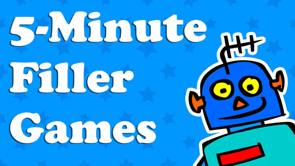 Kids 5 Minute Filler Games
