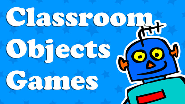 Kids Classroom Objects Games