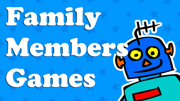 Kids Family Members Games