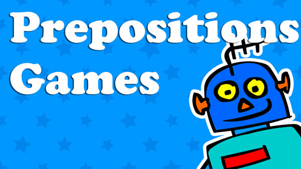 Kids Prepositions Games