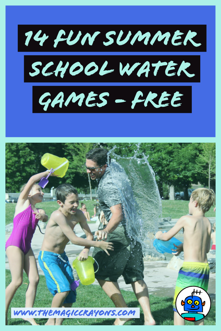 Summer School and Summer Camp Water Games