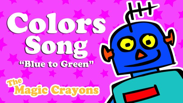 Colors Song for kids by The Magic Crayons