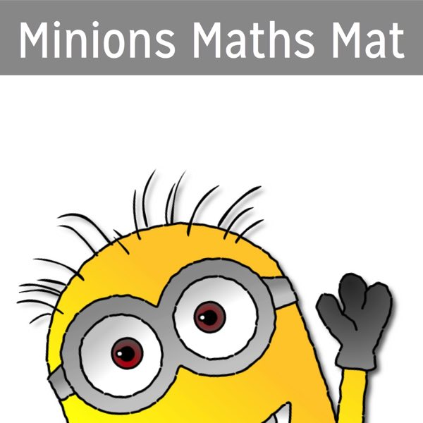 Minions maths mat