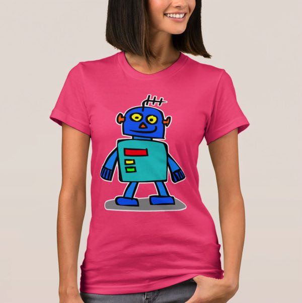 Womans Robot TShirt