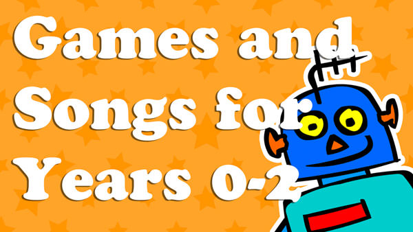 Games and songs for ages 0-2 Lesson Plans