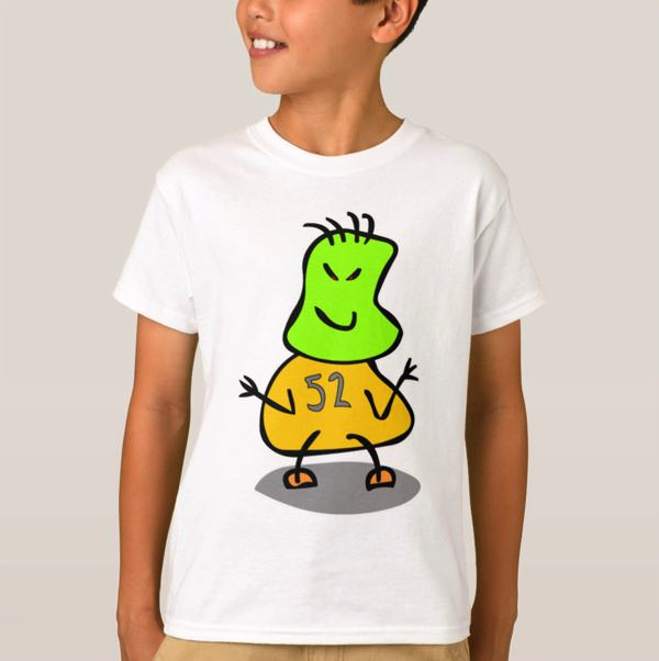 boys little monster t-shirt