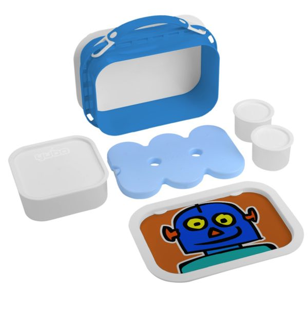 robot bento kids lunch box