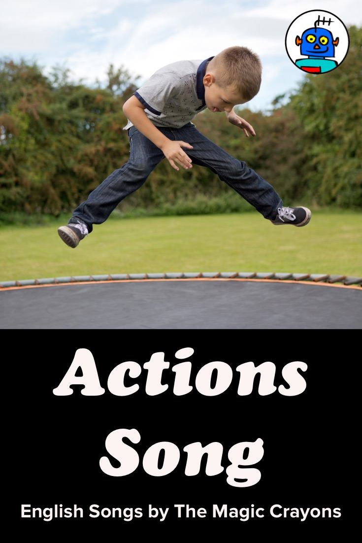 ESL EFL Kindergarten English Kids Actions Song