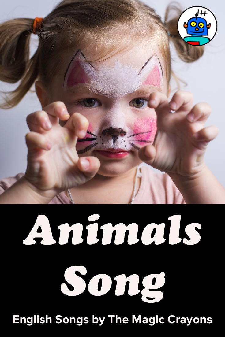 ESL EFL Kindergarten English Kids Animals Song