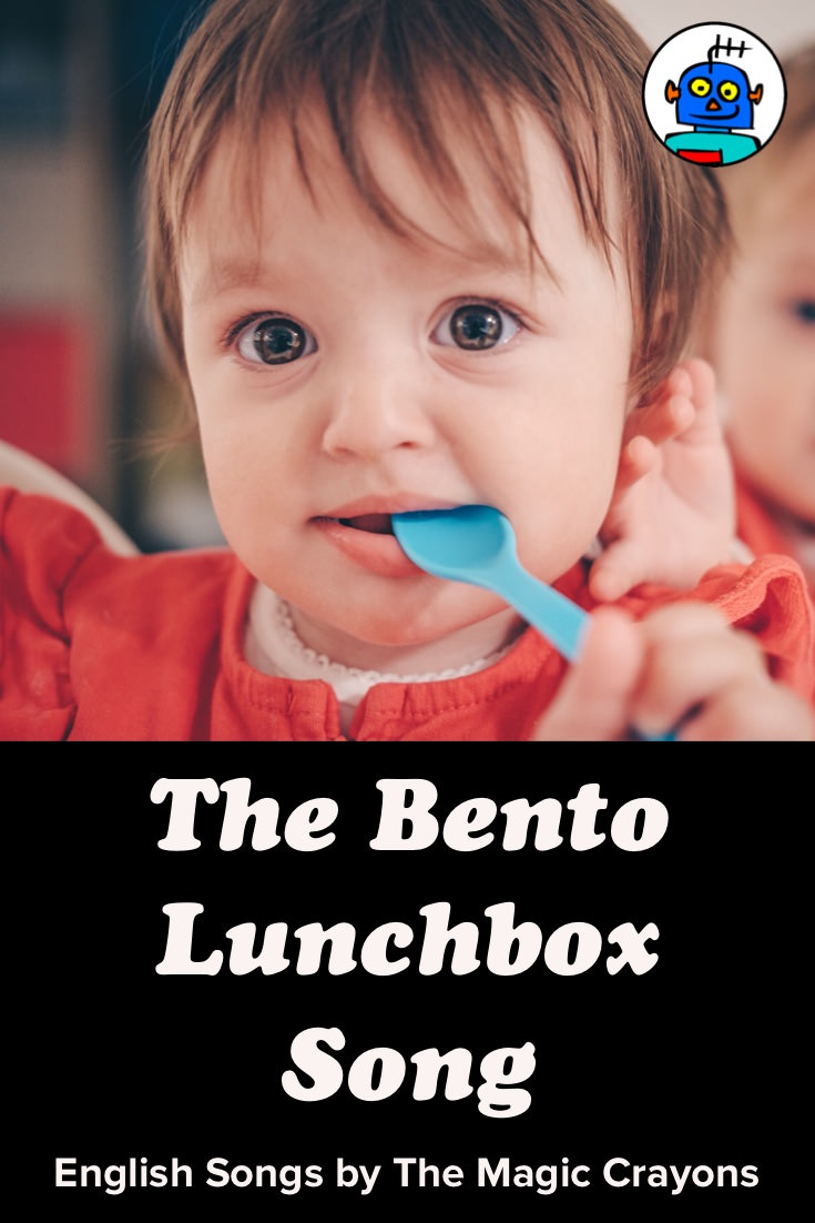 ESL EFL Kindergarten English Kids Bento Lunchbox Song