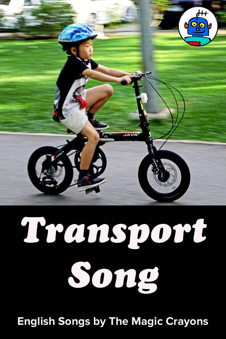 ESL EFL Kindergarten English Kids Transport Song