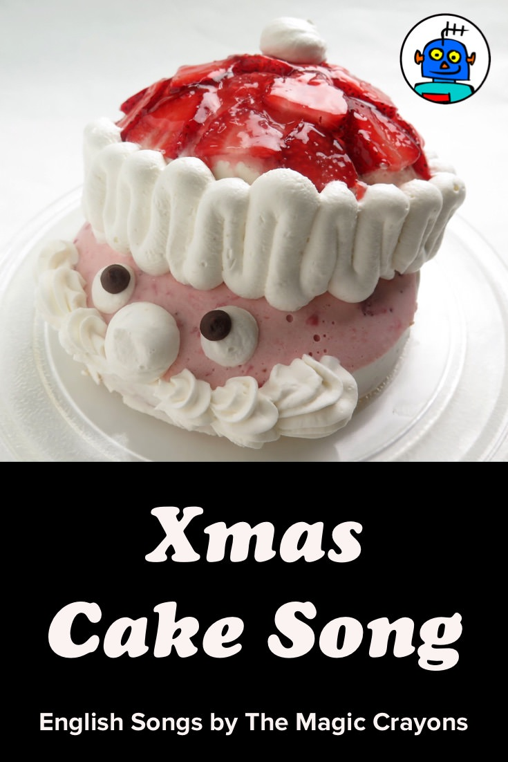 ESL EFL Kindergarten English Kids Xmas Cake Song