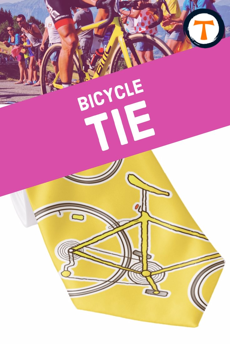 The bike tie for cyclists